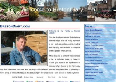 Francophile blog: Breton Diary