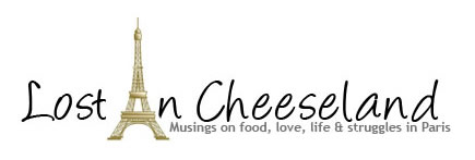 Francophile blog: Lost In Cheeseland