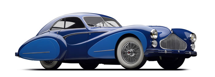 Mullin Automotive Museum in LA preserves French Art Deco cars