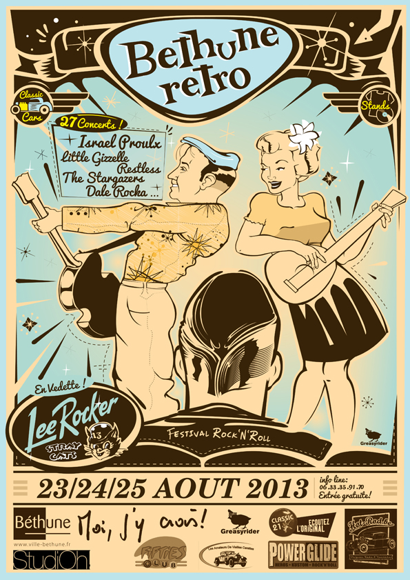 Blues and Rockabilly in France