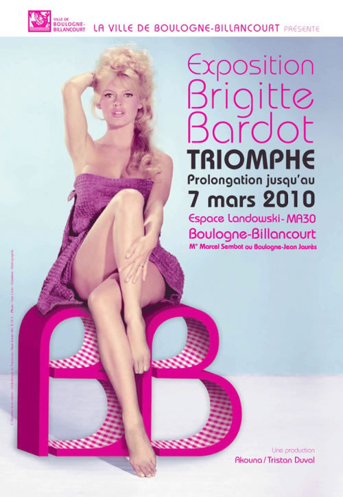 "Brigitte Bardot exhibit ""The Carefree Years"""