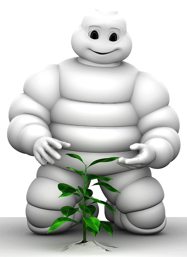 The Michelin Man has a name...
