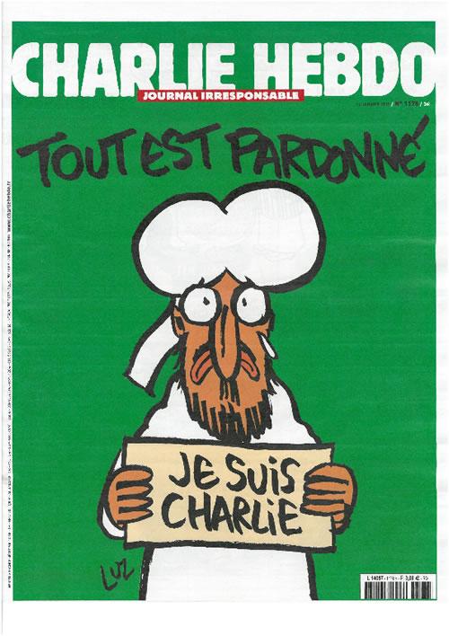 CHARLIE_HEBDO_N.1178_du_14_janvier_2015 cover