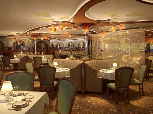 Disney cruise line adds French-inspired restaurant