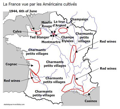 Maps of France, as seen by...