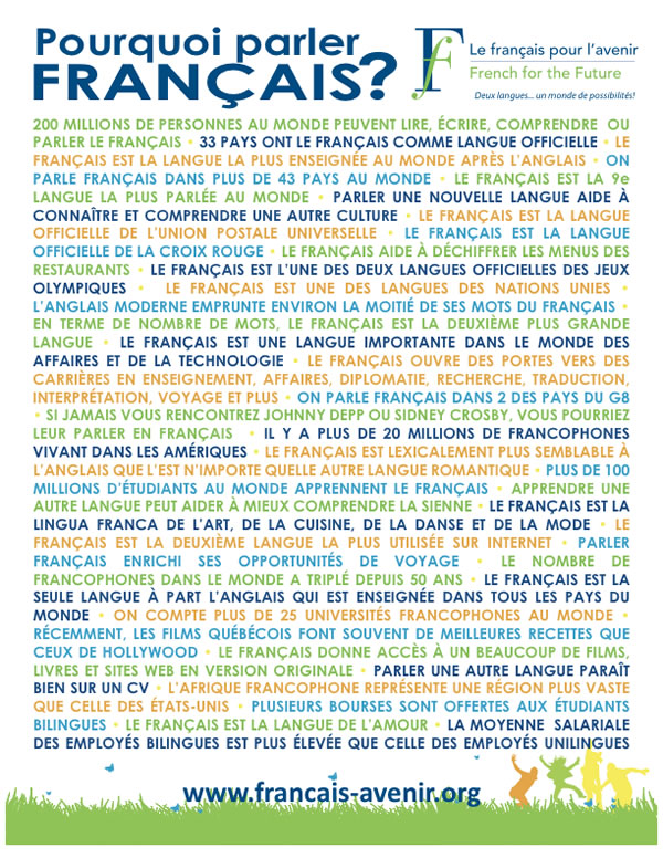 French for the Future / Le français pour l'avenir
