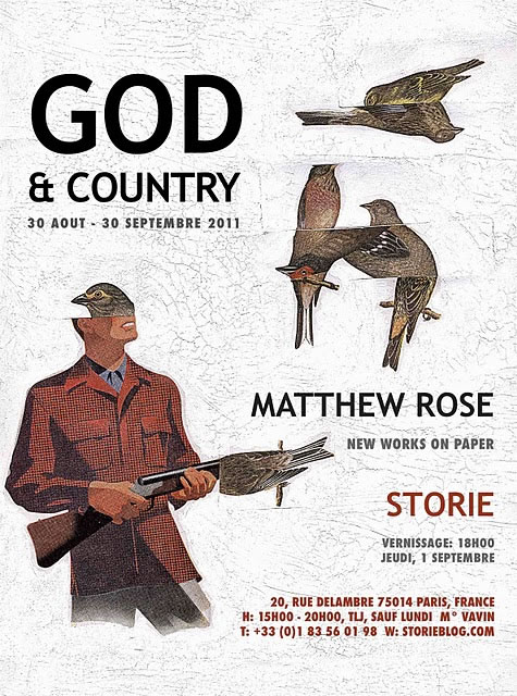 "Matthew Rose ""GOD and COUNTRY"" exhibit and vernissage"