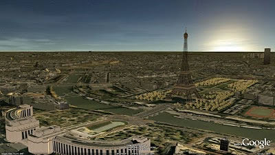 Google gives us Paris in 3D