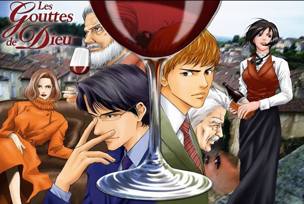 Manga series gives French vintner a big boost