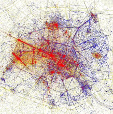 Paris tourism hotspots (of the non-wifi kind)