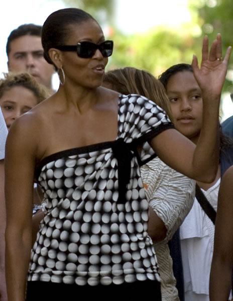 First lady has good taste in designers