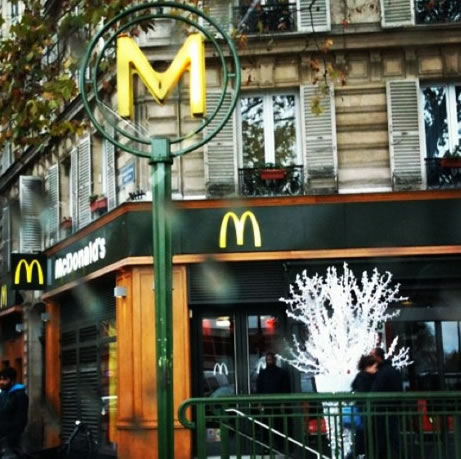 France conquered by McDonald's