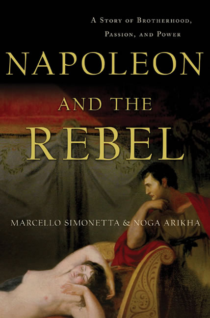 "July giveaway: ""Napoleon and the Rebel"""