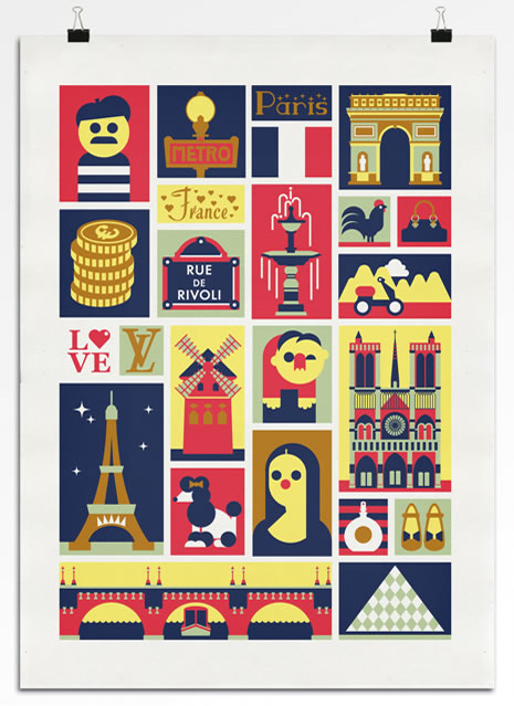 A selection of Francophile designs for inspiration