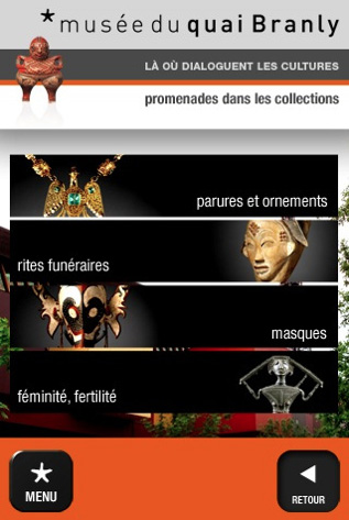 Muse du Quai Branly iOS app