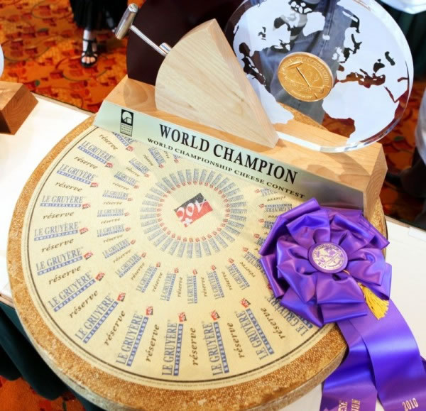 Sorry, France, the Swiss are world cheese champs