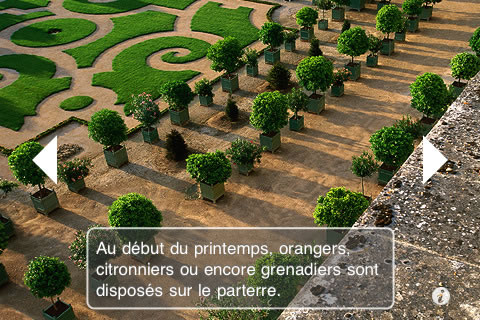 iPhone app for virtual visit of Versailles