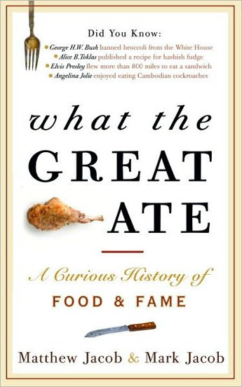 "Francophilia August giveaway: ""What the Great Ate"""