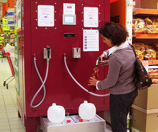 French wine vending machines coming to the US?