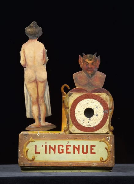 Antique French carnival art exhibit in Paris