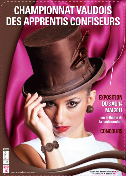 Haute chocolate in Lausanne