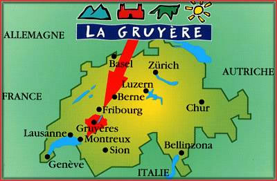 Only the Swiss can call it Gruyère