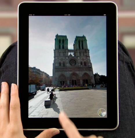 Apple picks Paris to showcase its Maps app for iPad