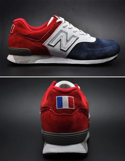 "Woo Hoo! New Balance 576 ""France"""